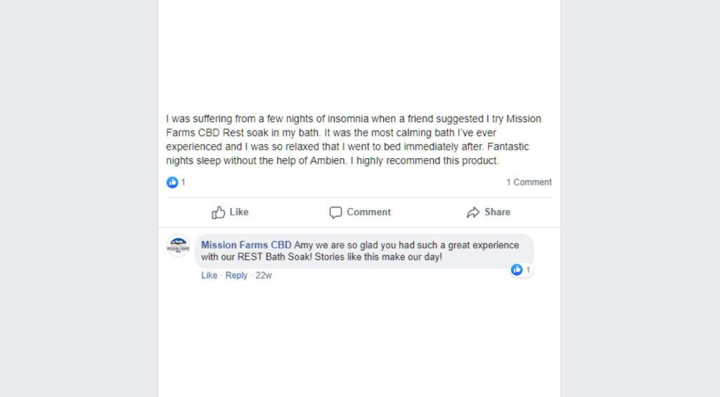 Mission Farms CBD Reviews