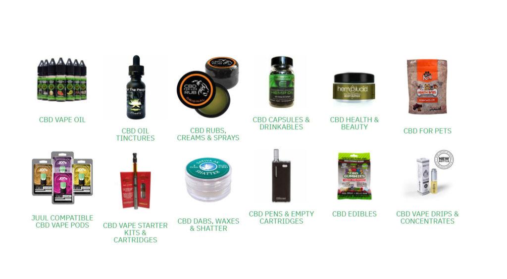 Pure CBD Vapors products