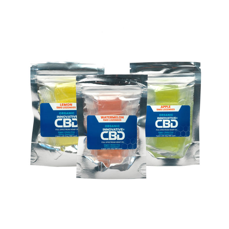 Innovative CBD Lozenges