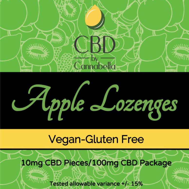 Cannabella Kitchen CBD Lozenges