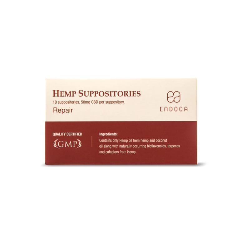 Endoca Hemp CBD Suppositories