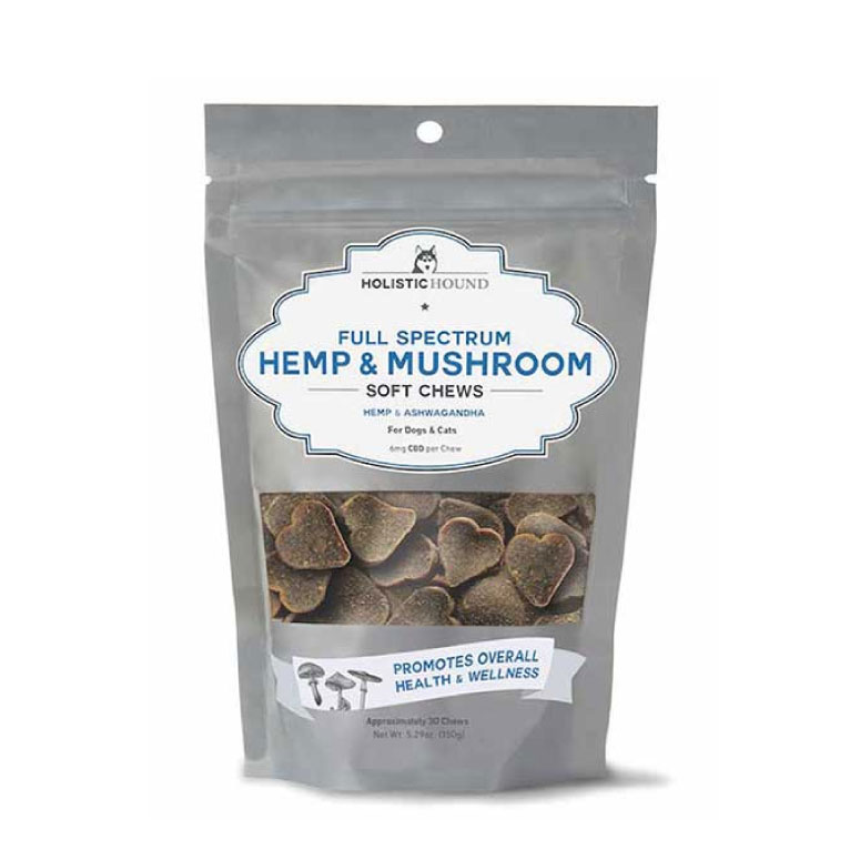 Holistic Hound – Hemp and Mushroom Soft Chews