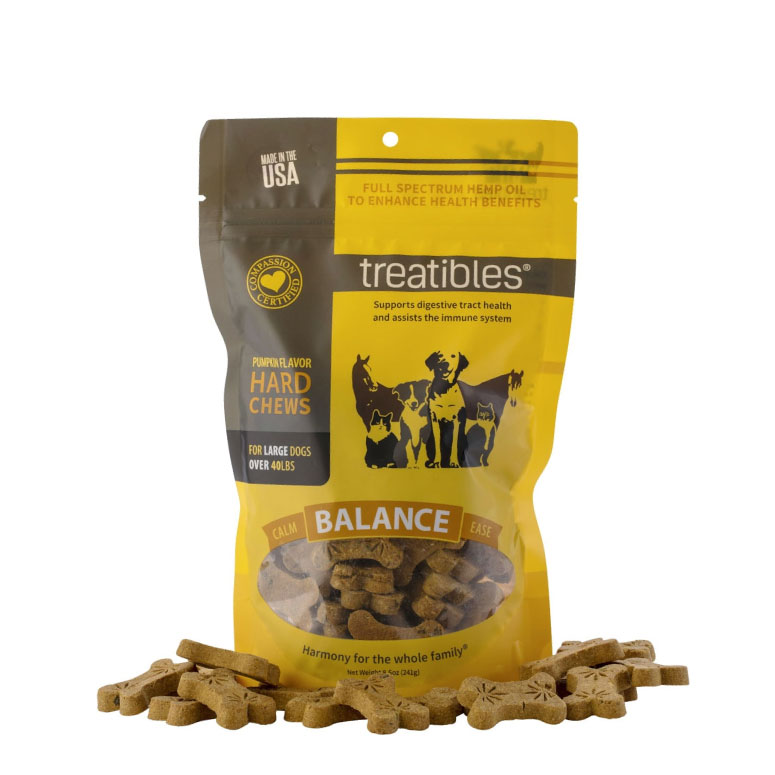 Treatibles - Balance (Pumpkin Flavor) Hard Chews
