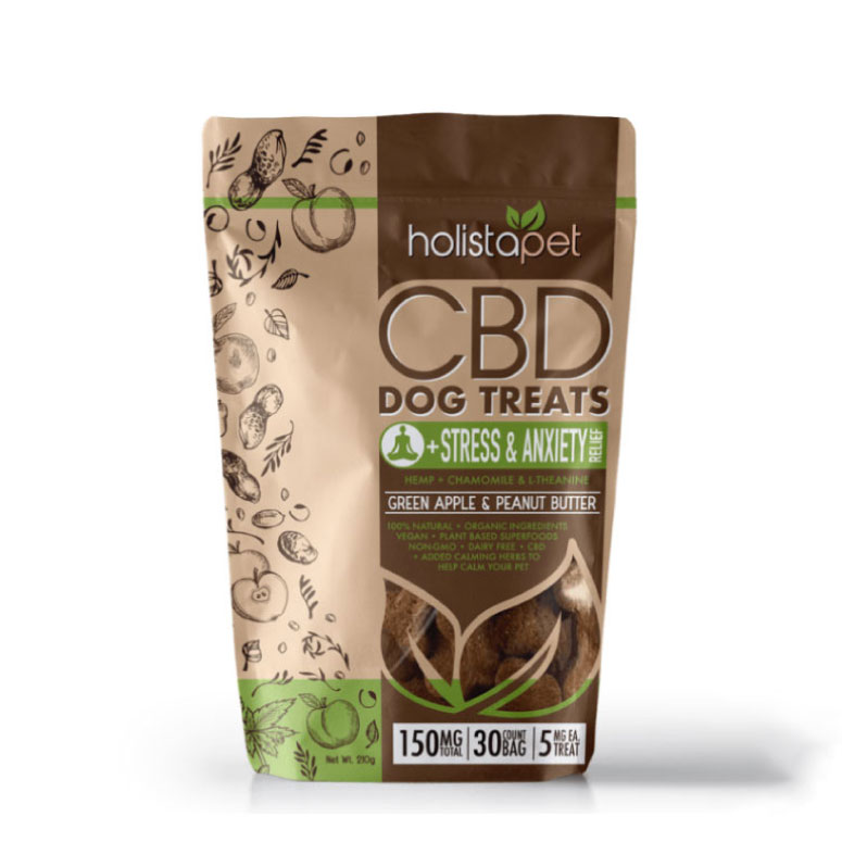 HolistaPets - CBD Dog Treats + Stress & Anxiety Relief