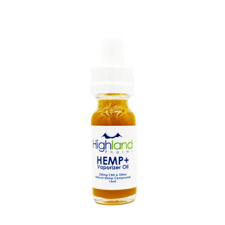 Highland Pharms HEMP Plus Vape Oil