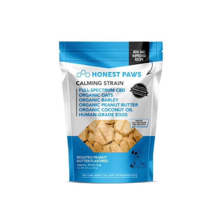 Roasted Peanut Butter Calming Bites by Honest Paws