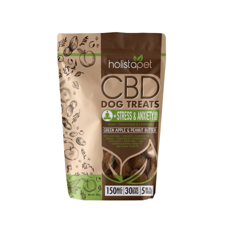 stress & Anxiety Relief CBD Dog Treats by HolistaPet