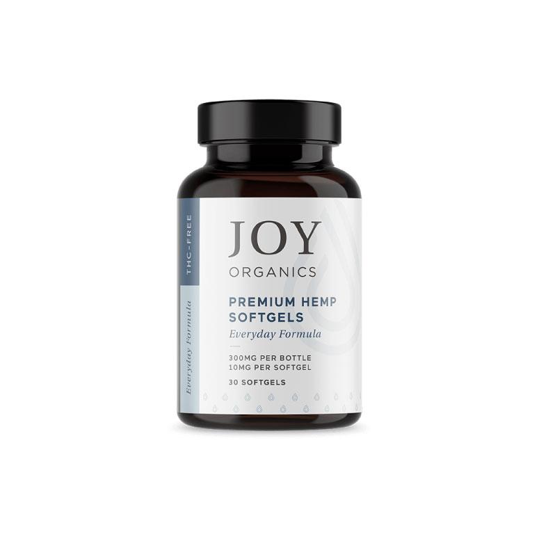 Joy Organics 10mg CBD Softgels