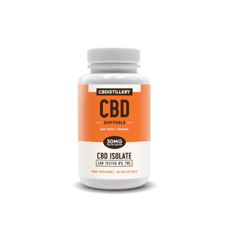 CBDistillery Relief and Relax Full-Spectrum CBD Softgels