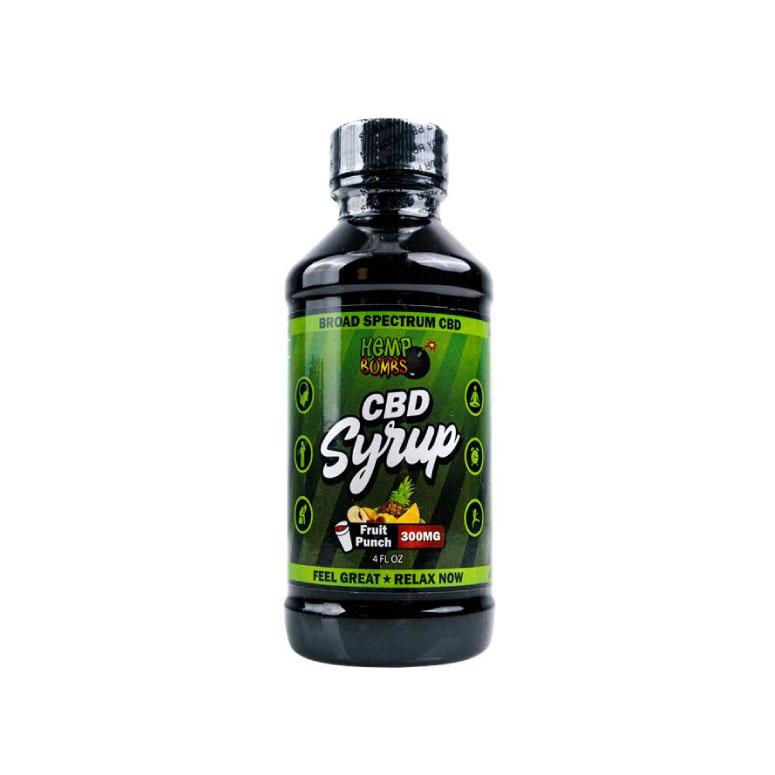 Hemp Bombs 300mg CBD Syrup