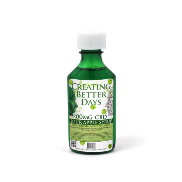 Creating Better Days Nano-CBD Apple Melatonin Syrup