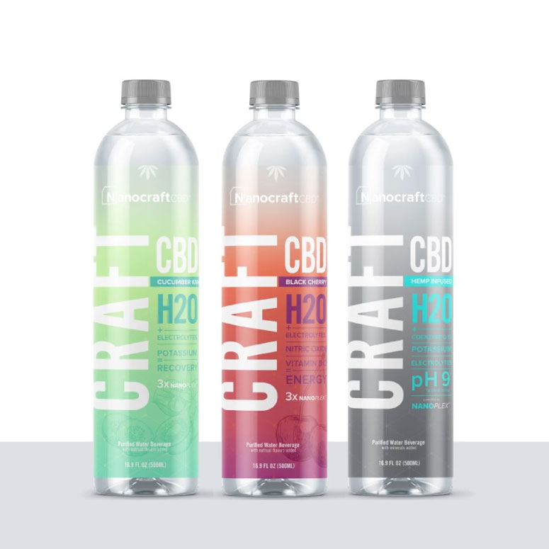 "Nanocraft ""Craft H2O"" CBD Water"
