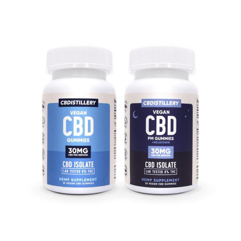 CBDistillery: CBD Gummies & CBD Nighttime Gummies
