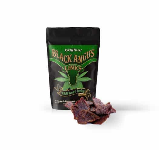 black angus links infused with cbd