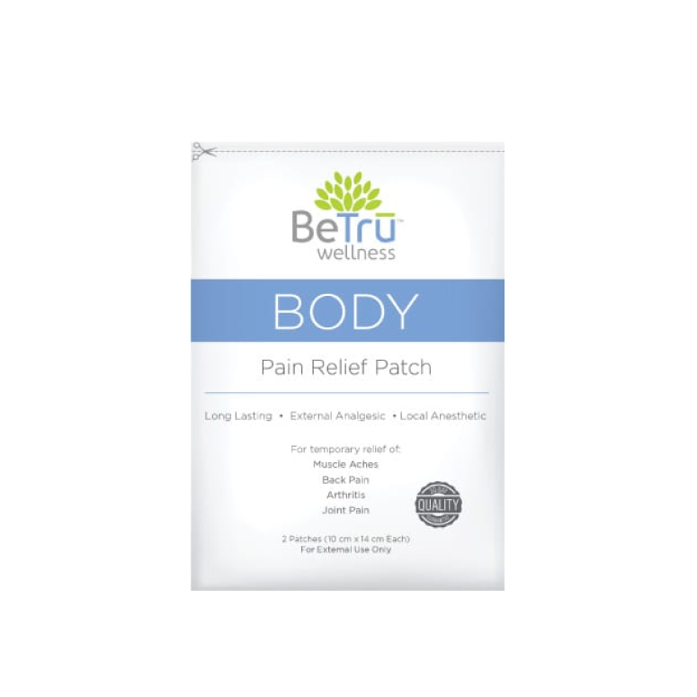 Be Trū Wellness BODY Pain Relief Patch