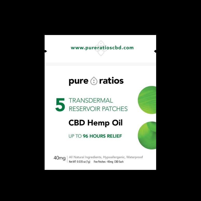 Pure Ratios 96-hour Transdermal CBD Pain Patch