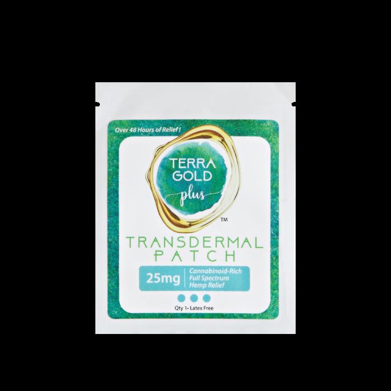 TerraGold Plus Transdermal Hemp Relief Patch