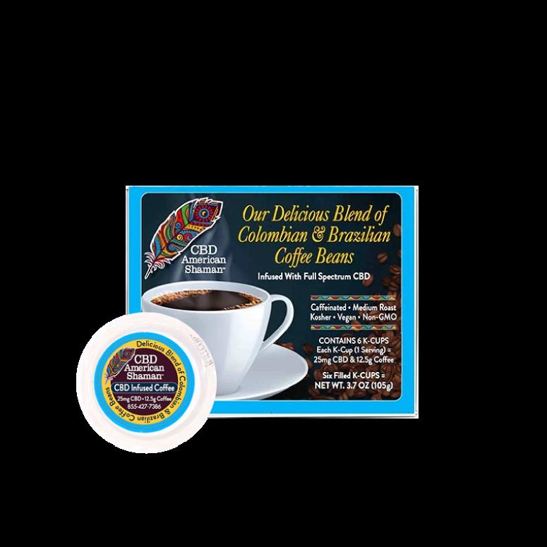 American Shaman CBD Coffee Pods