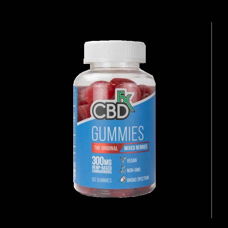 CBDfx 1,500-Milligram CBD Gummy Bears