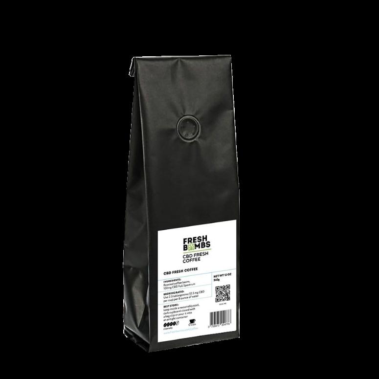 Fresh Bombs CBD Coffee