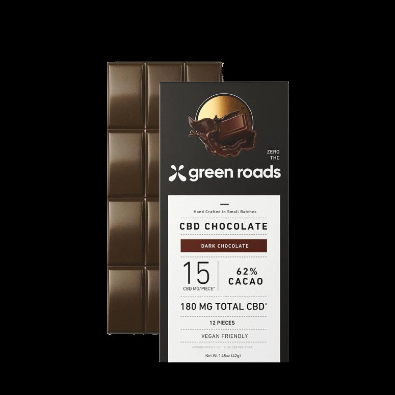 Green Roads CBD Dark Chocolate Bar
