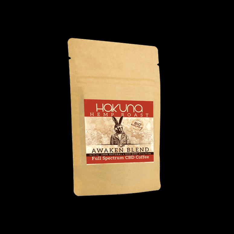 Hakuna Supply Awaken Blend Hemp Roast Coffee