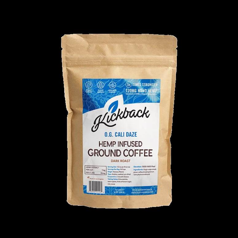 Kickback Cali Daze CBD Coffee