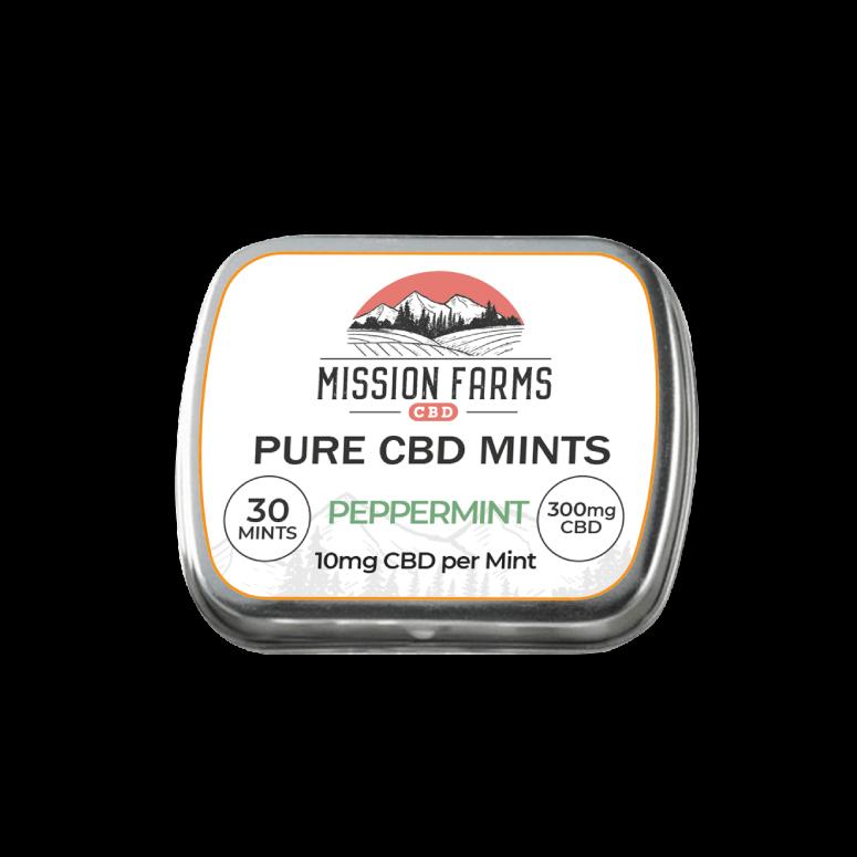 Mission Farms Pure CBD Peppermints