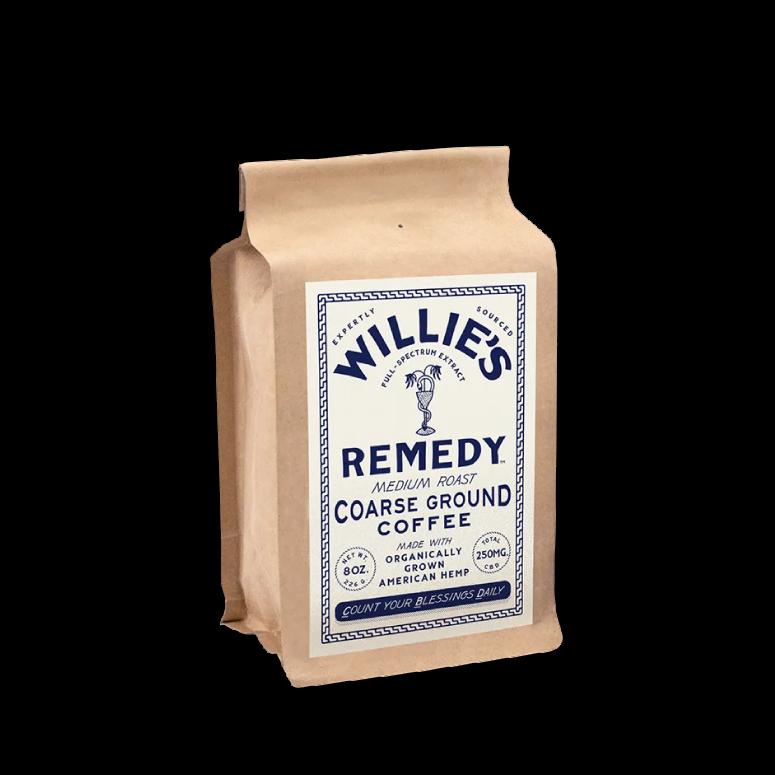 Willie's Remedy Hemp-Infused Medium Roast Blend