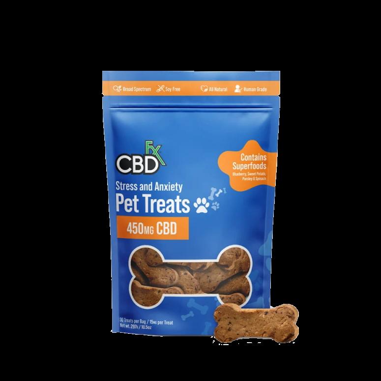 CBDfx CBD Pet Treats for Stress & Anxiety