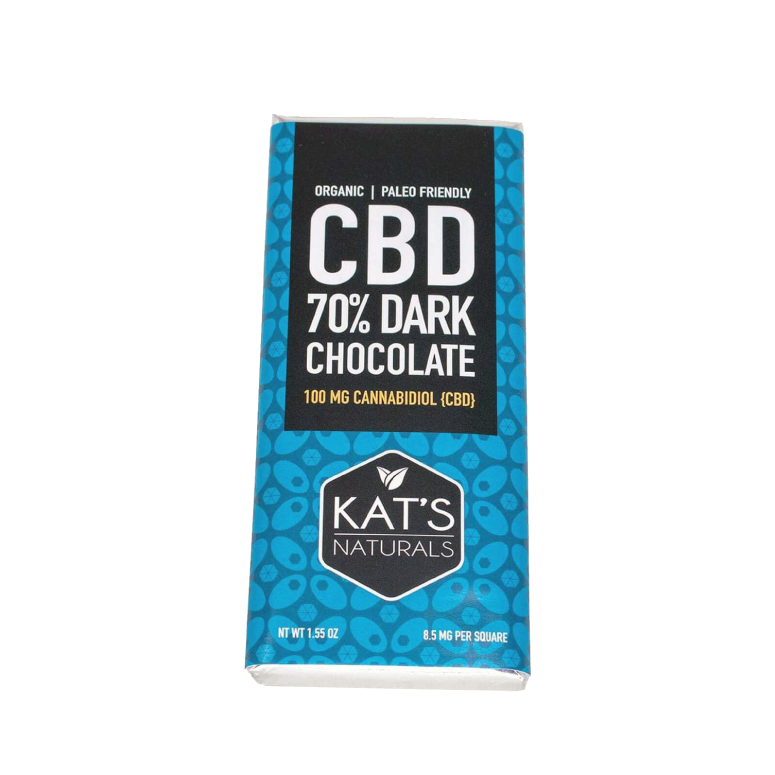 Kat's Naturals Activated Hemp Dark Chocolate