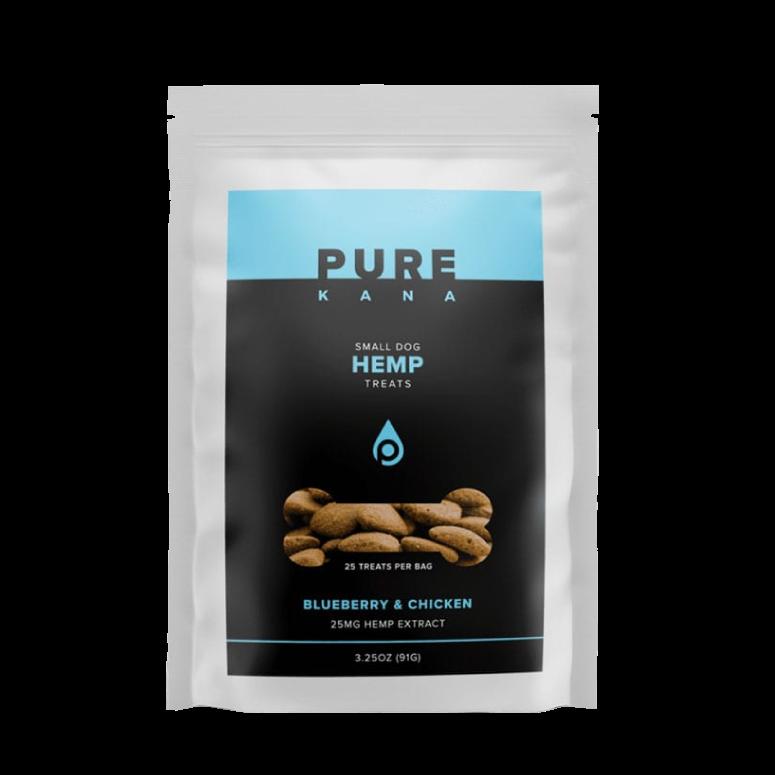 PureKana Hemp Dog Treats – Blueberry & Chicken