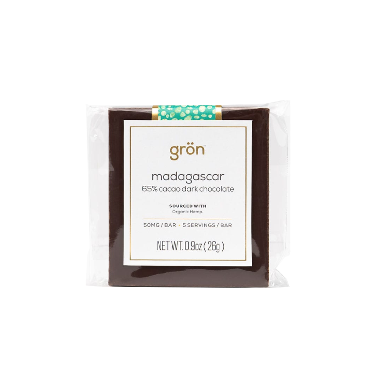 Grön CBD Madagascar Dark Chocolate