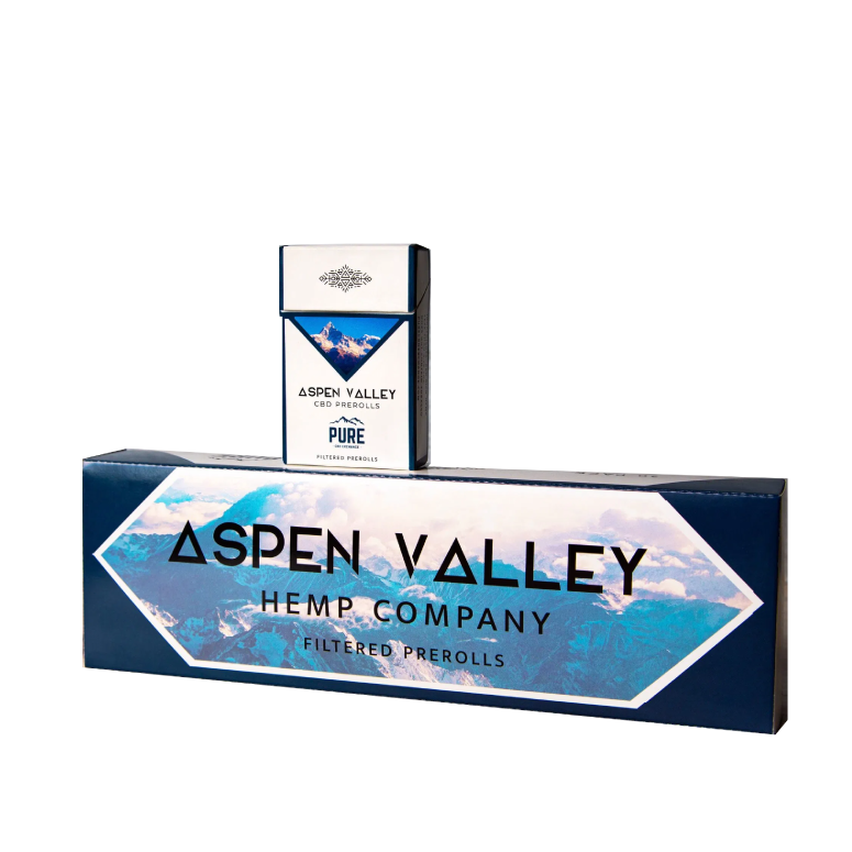 Aspen Valley CBD Cigarettes