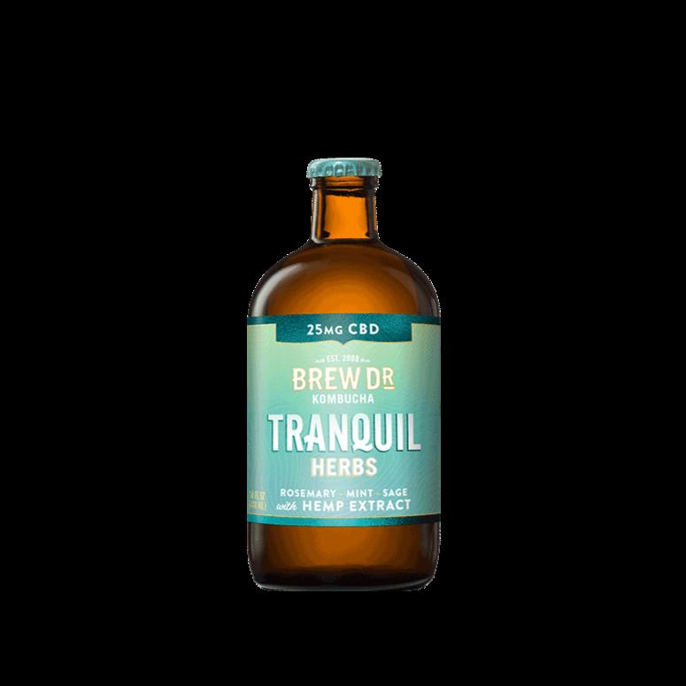 Brew Doctor Tranquil Berries CBD Kombucha