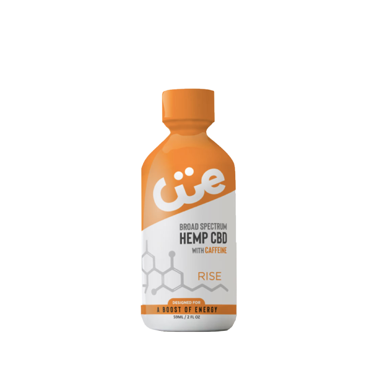 CUE Rise 20mg CBD shot with Caffeine – Lemon Tea