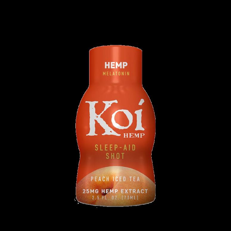 Koi Peach Iced Tea CBD Wellness Shot