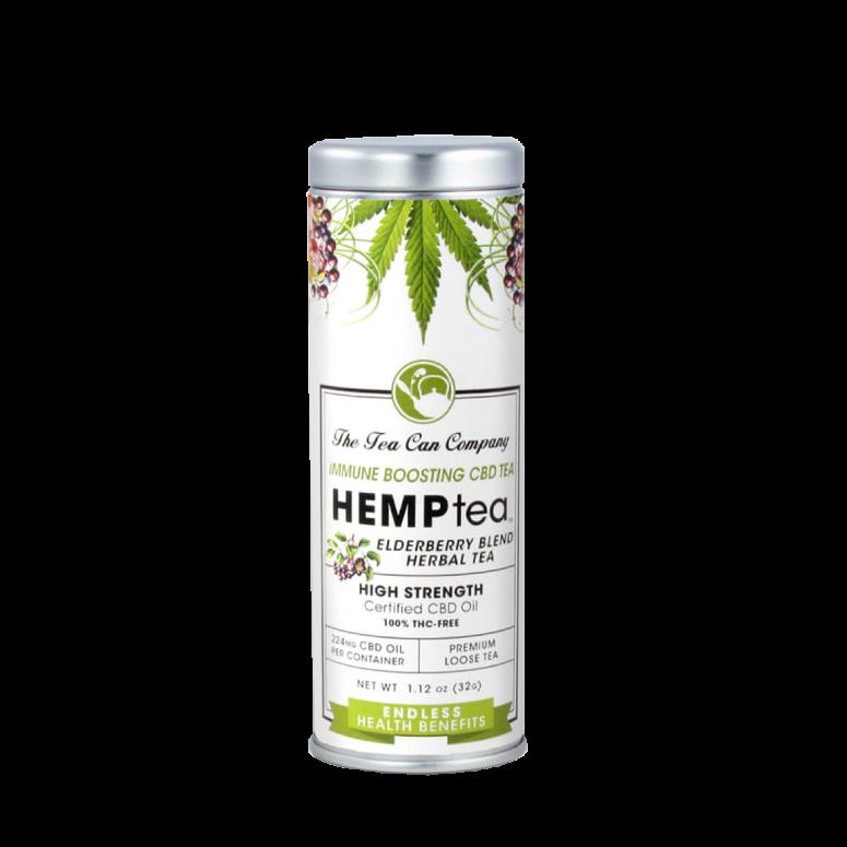 The Tea Can Company HempTea Healing Elderberry