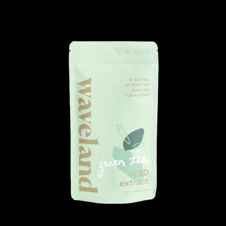 Waveland Green Tea With CBD