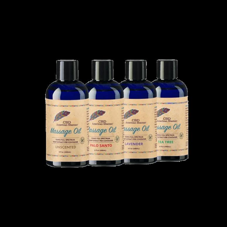 American Shaman CBD Massage Oil