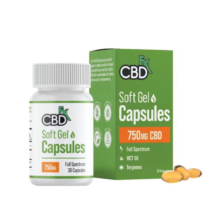CBDfx CBD Gel Capsules