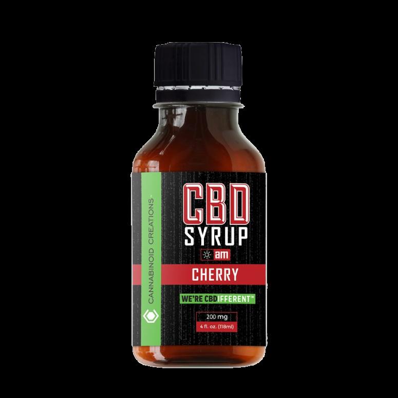 Cannabinoid Creations CBD Cherry Syrup—AM