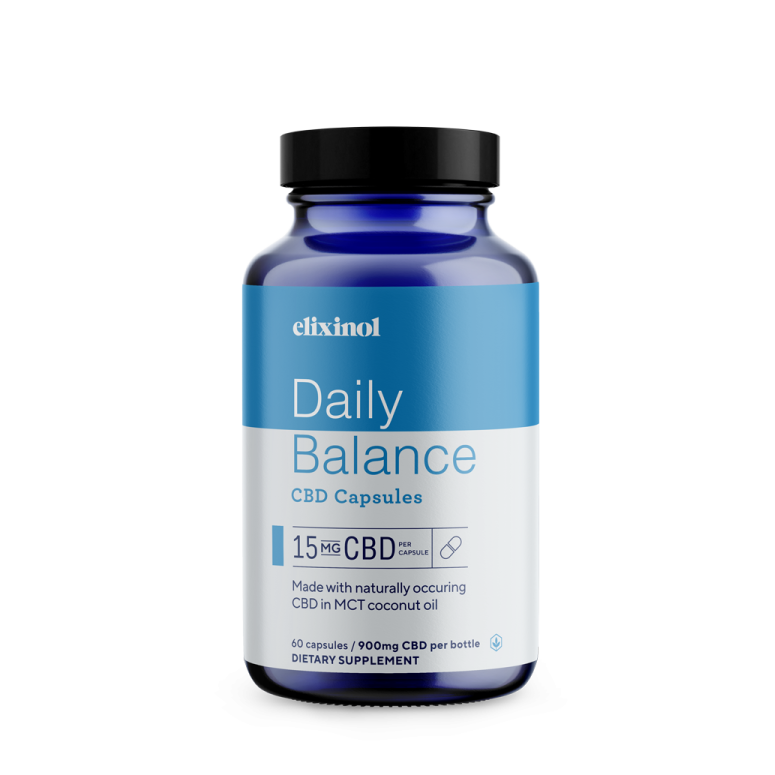 Elixinol Daily Balance Capsules