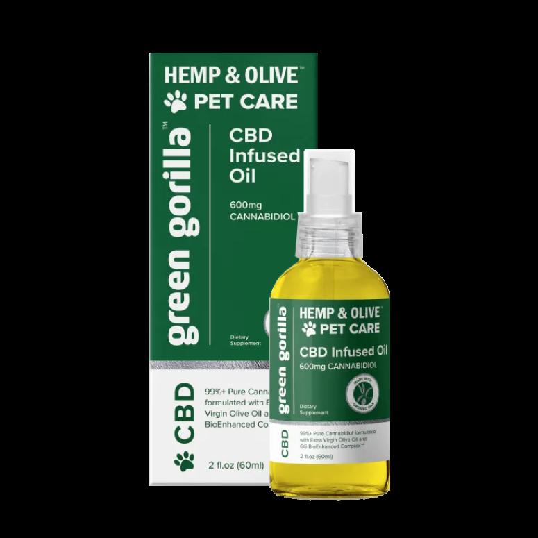 Organic Pure CBD Oil For Dogs & Pets