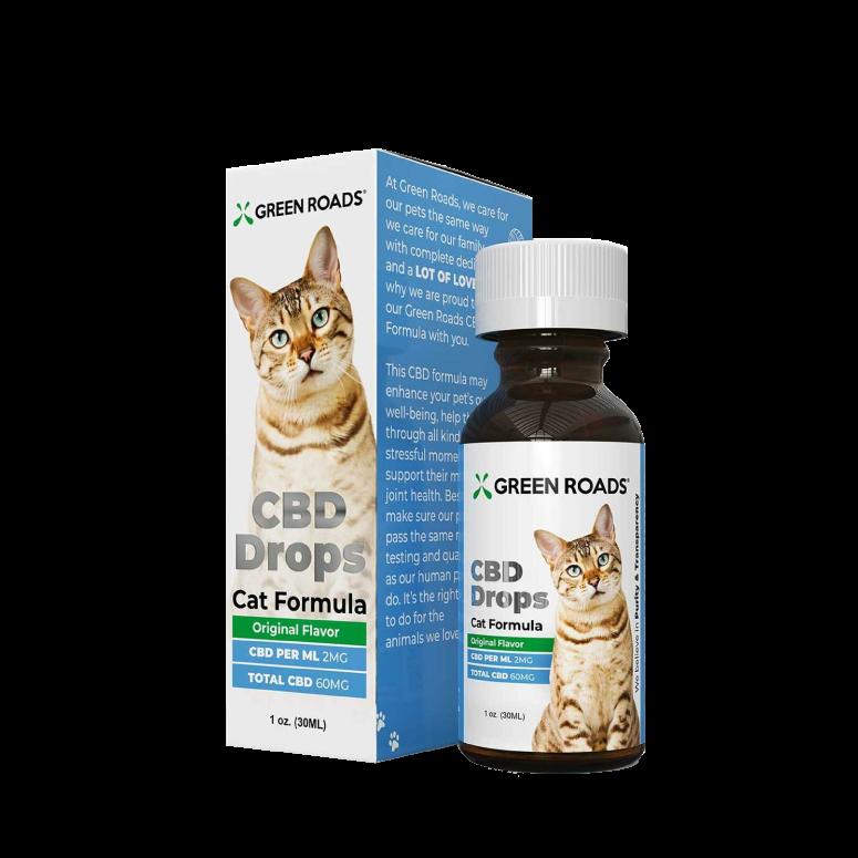 Green Roads Pet CBD Drops for Cats