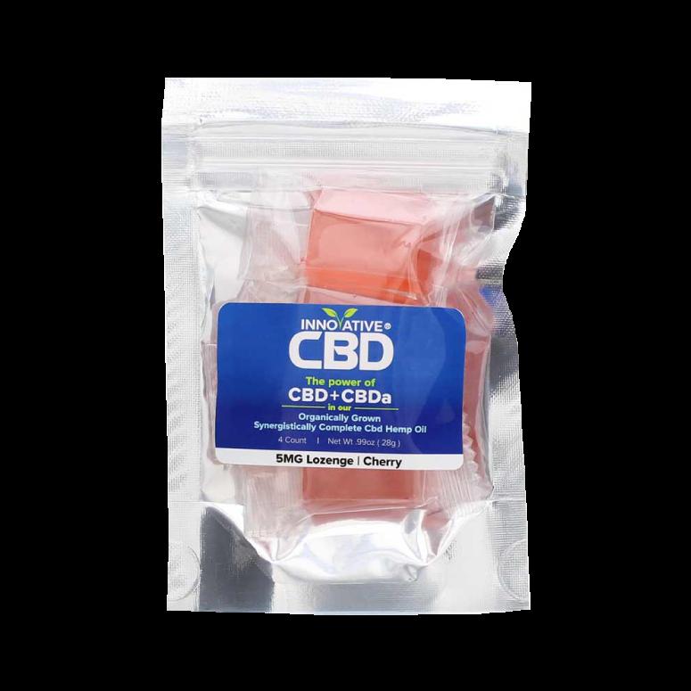 Innovative CBD CBD + CBDa Lozenges