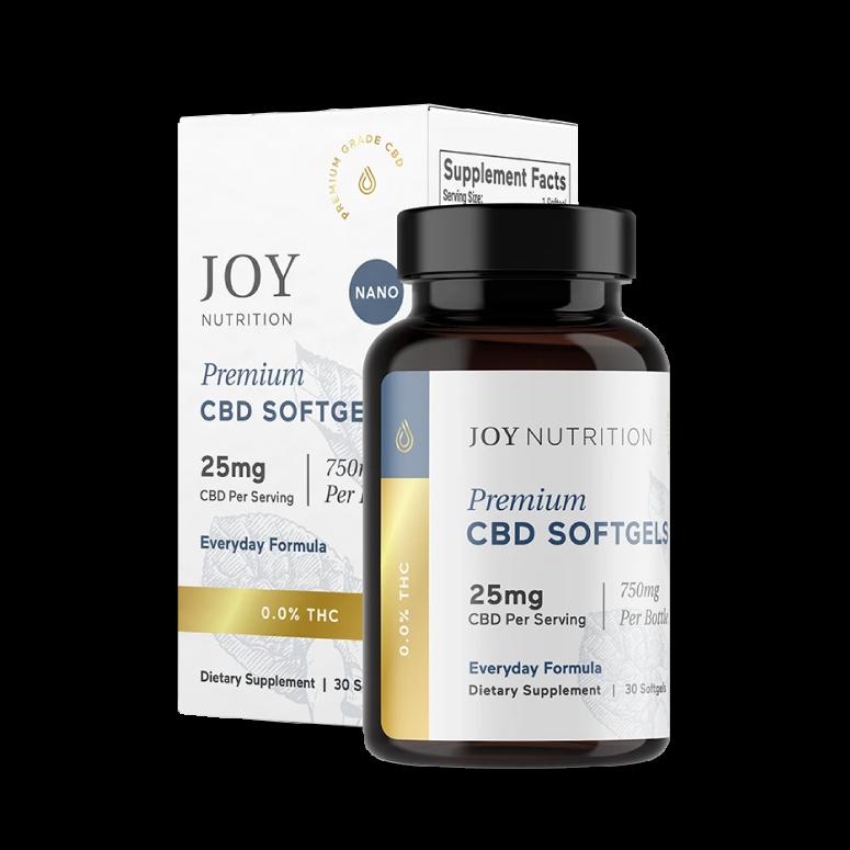 Joy Organics CBD Softgels with Melatonin for Sleep
