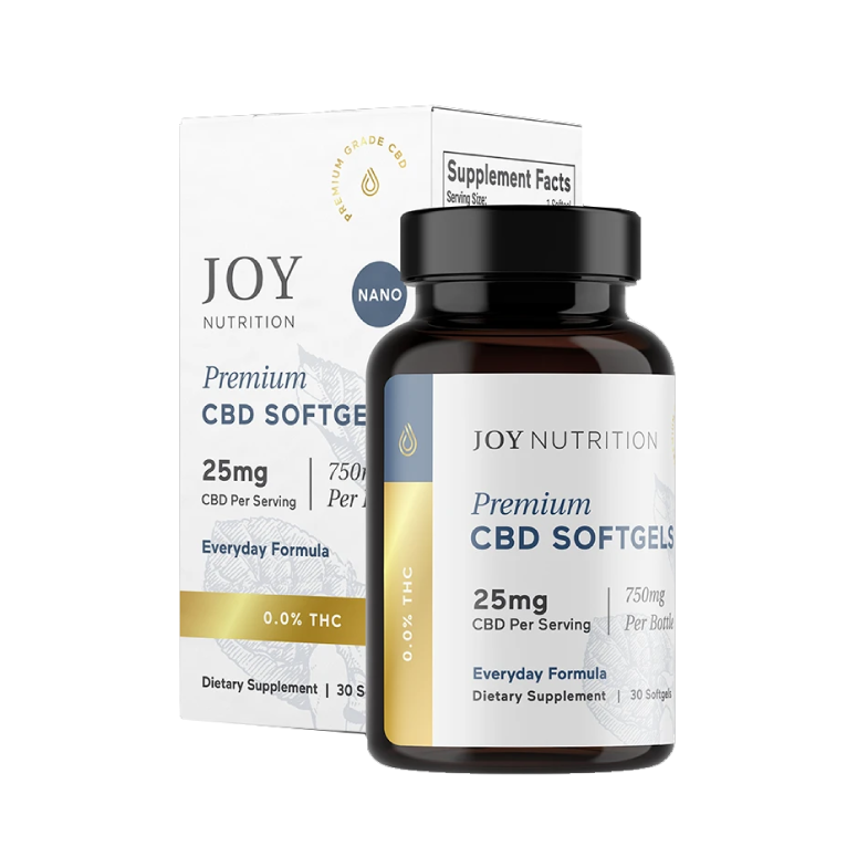 Joy Organics Everyday Formula CBD Softgels