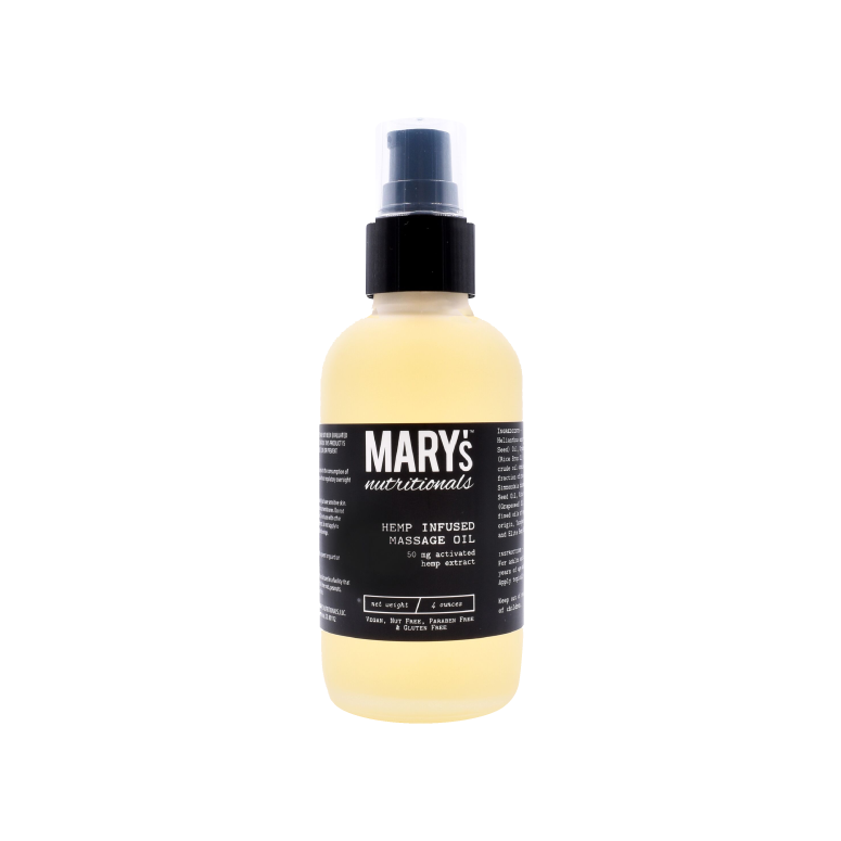 Mary's Nutritionals Hemp-Infused Massage Oil