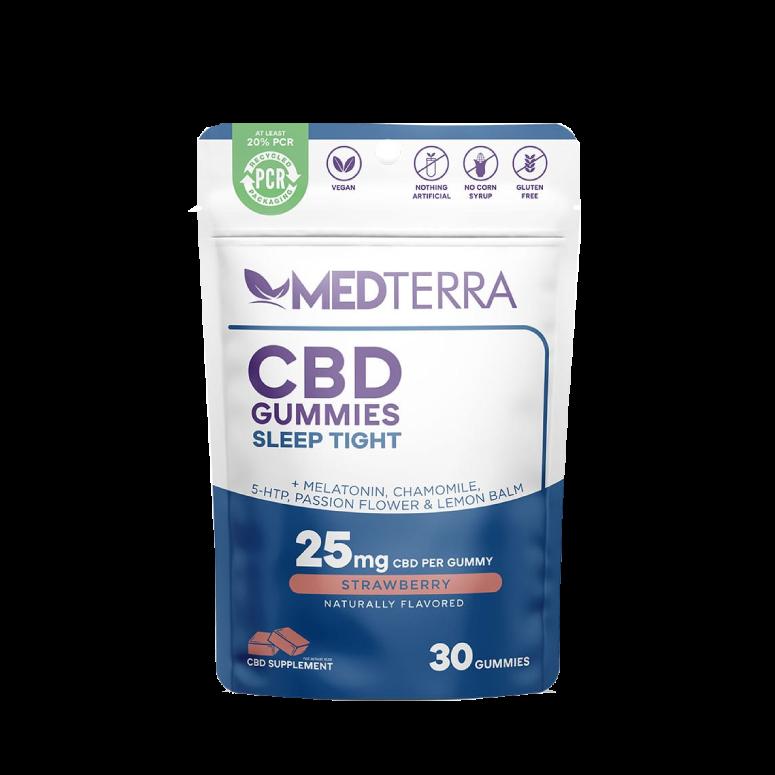 Medterra Sleep Tight CBD Gummies